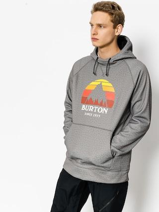 Bluza z kapturem Burton Crown Bndd HD (monument heather)