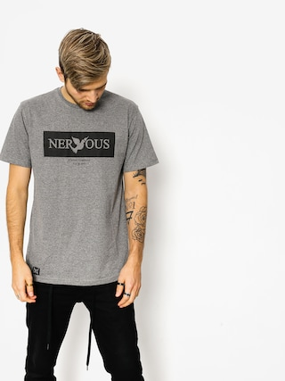 T-shirt Nervous Brand Box (grey)