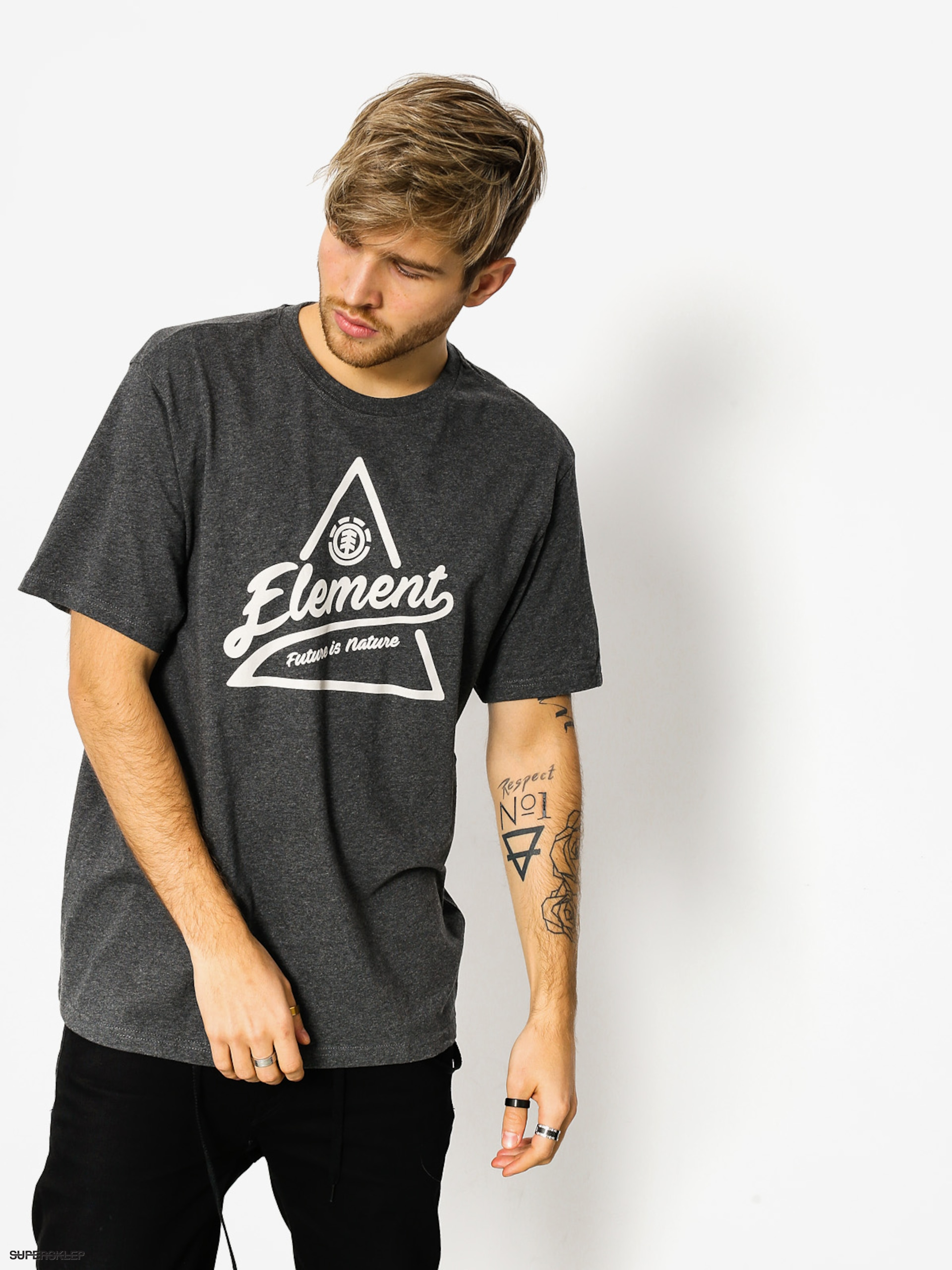 T-shirt Element Ascent (charcoal heather)