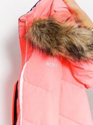 Kurtka snowboardowa Roxy Snowstorm (neon grapefriut)