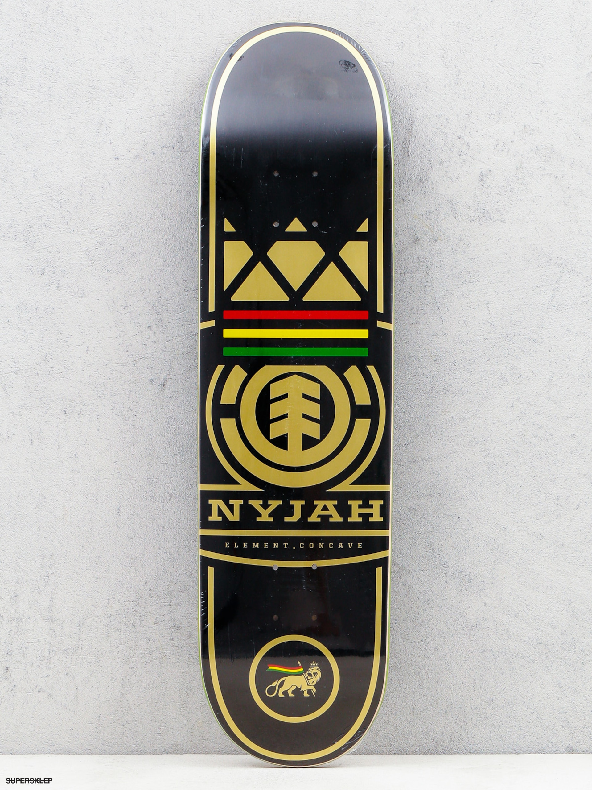 Deck Element Nyjah Concave Logo