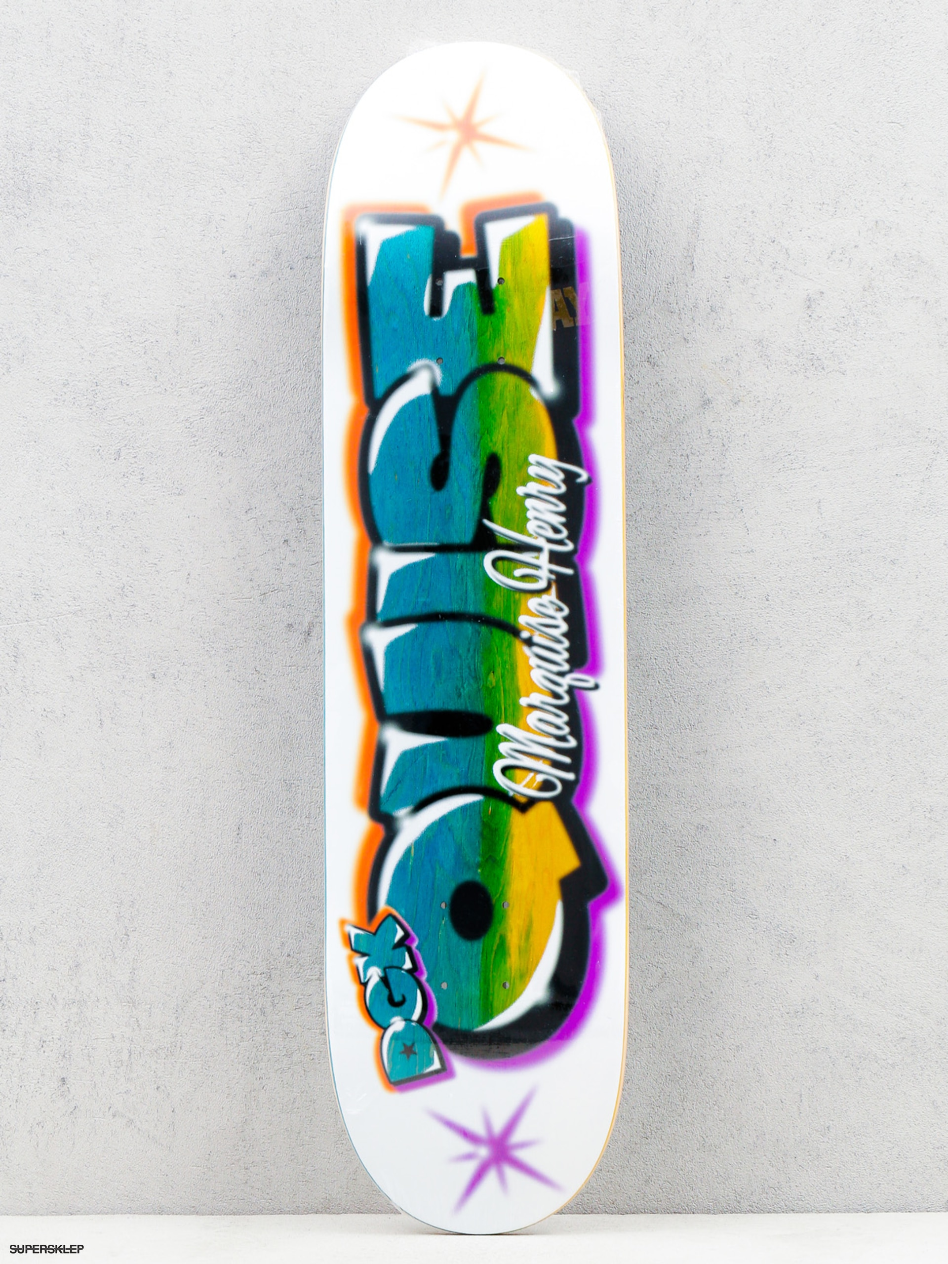 Deck DGK Airbrush Quise (white/multi)