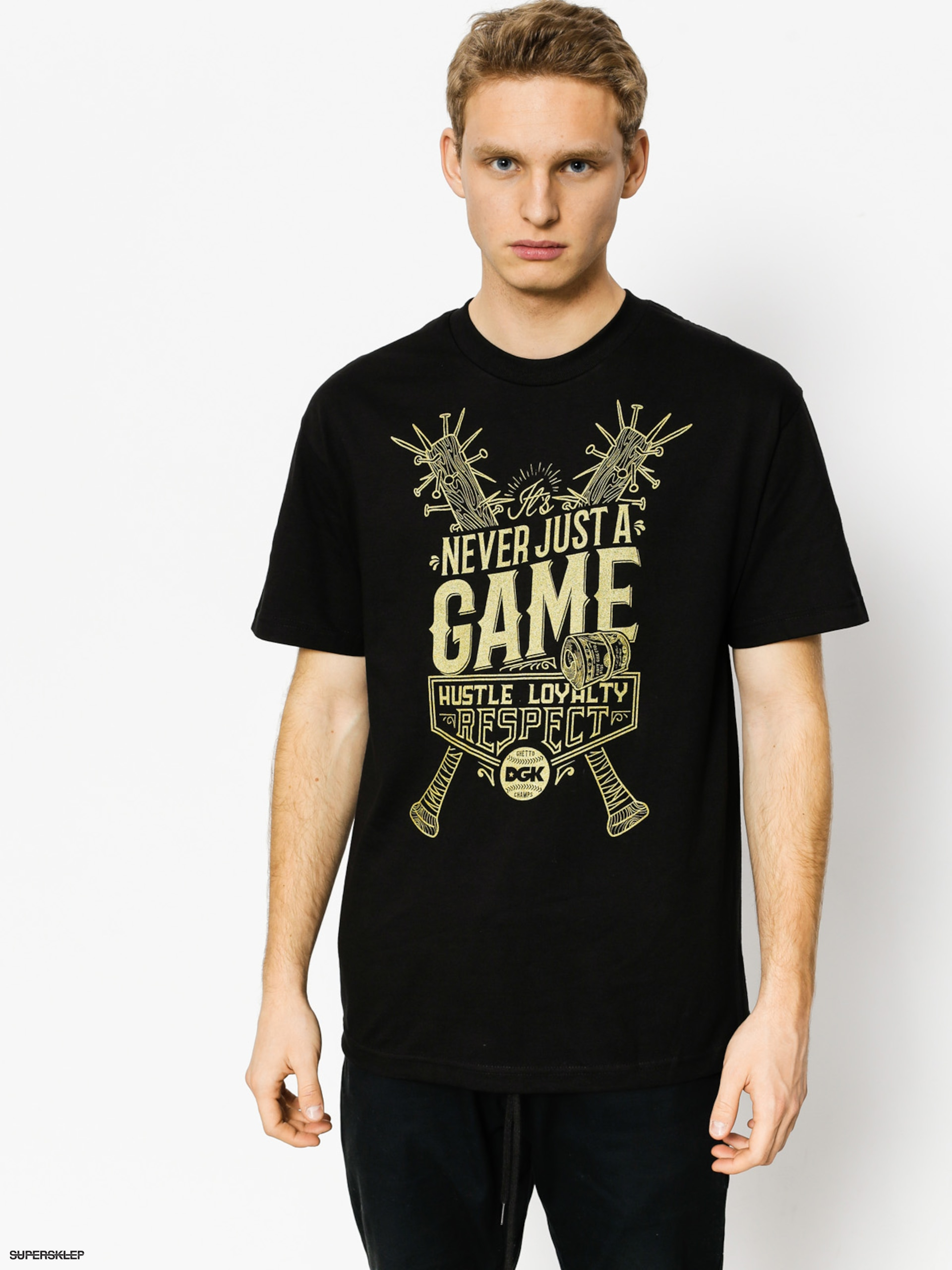 T-shirt DGK Game (black)