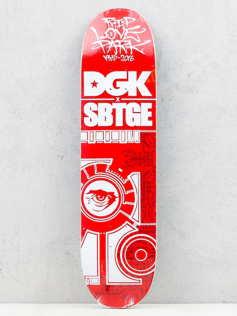 Deck DGK Sabotage (red/white)