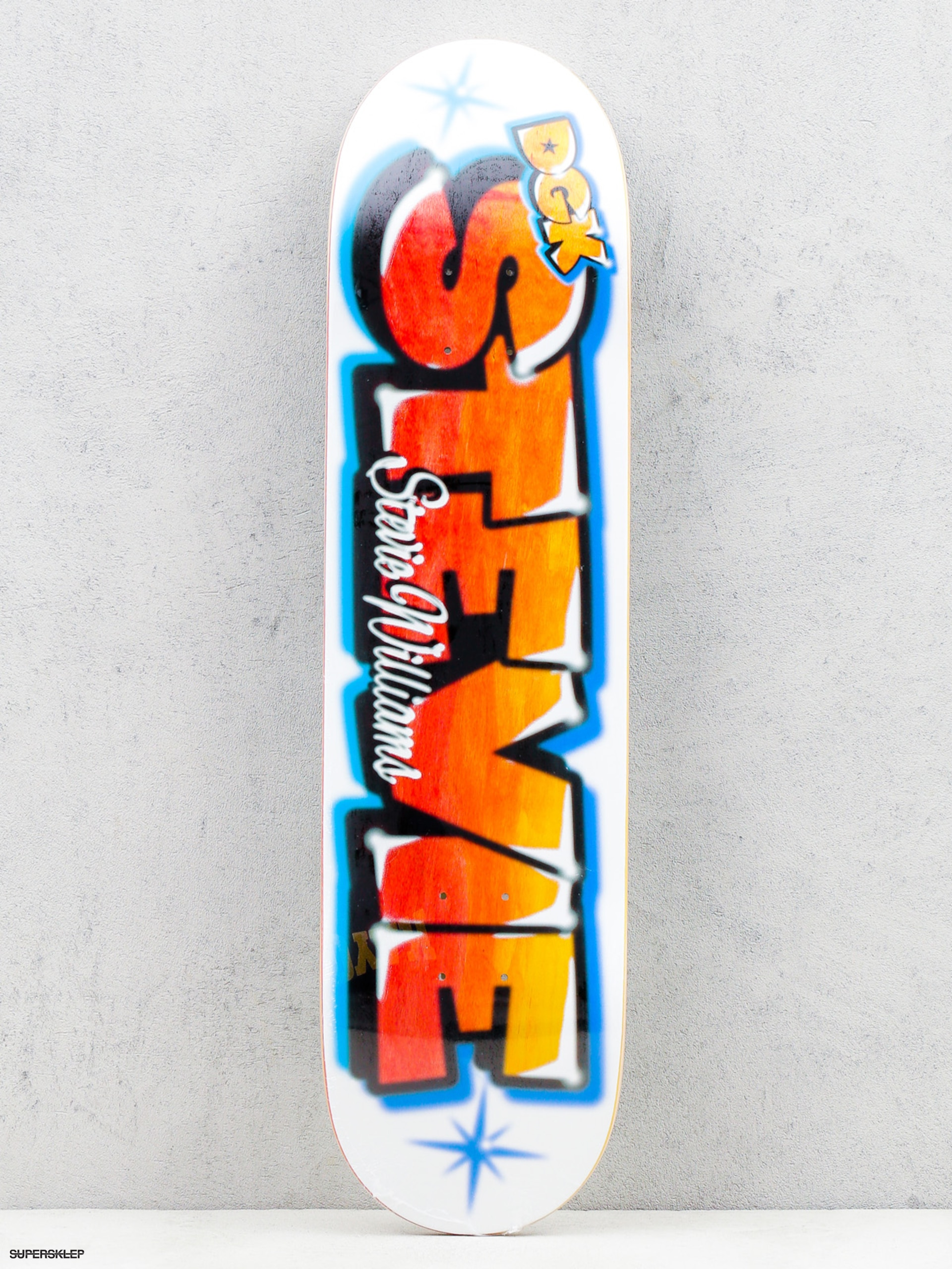 Deck DGK Airbrush Stevie (white/multi)