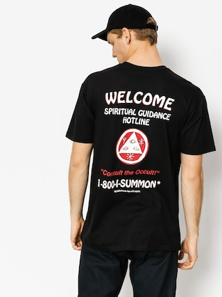 T-shirt Welcome Hotline (black/red)