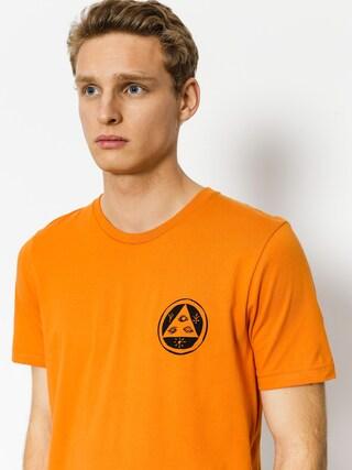 T-shirt Welcome Saber Skull (burnt orange/black)