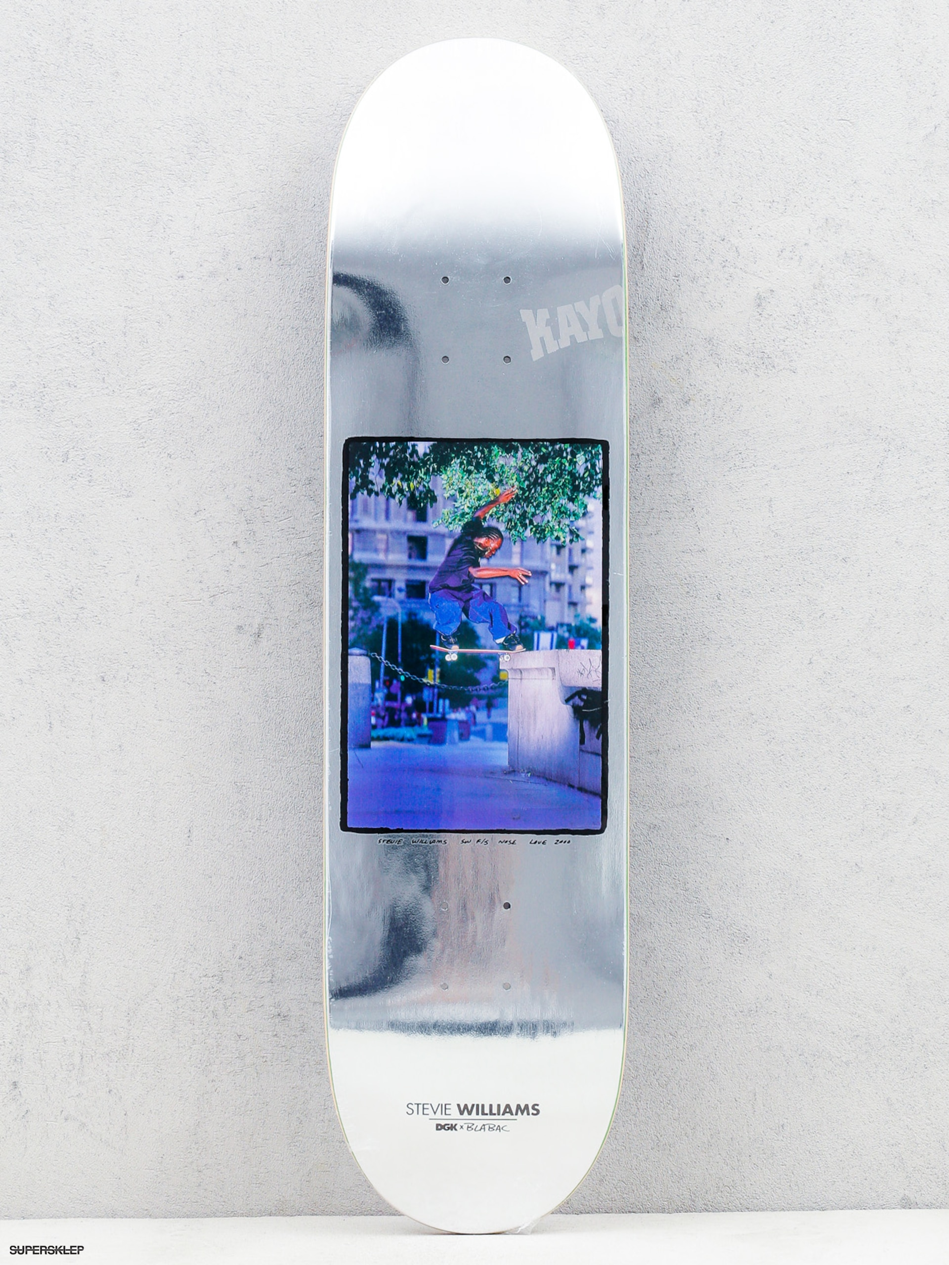Deck DGK Blabac Silver Stevie Williams (silver)