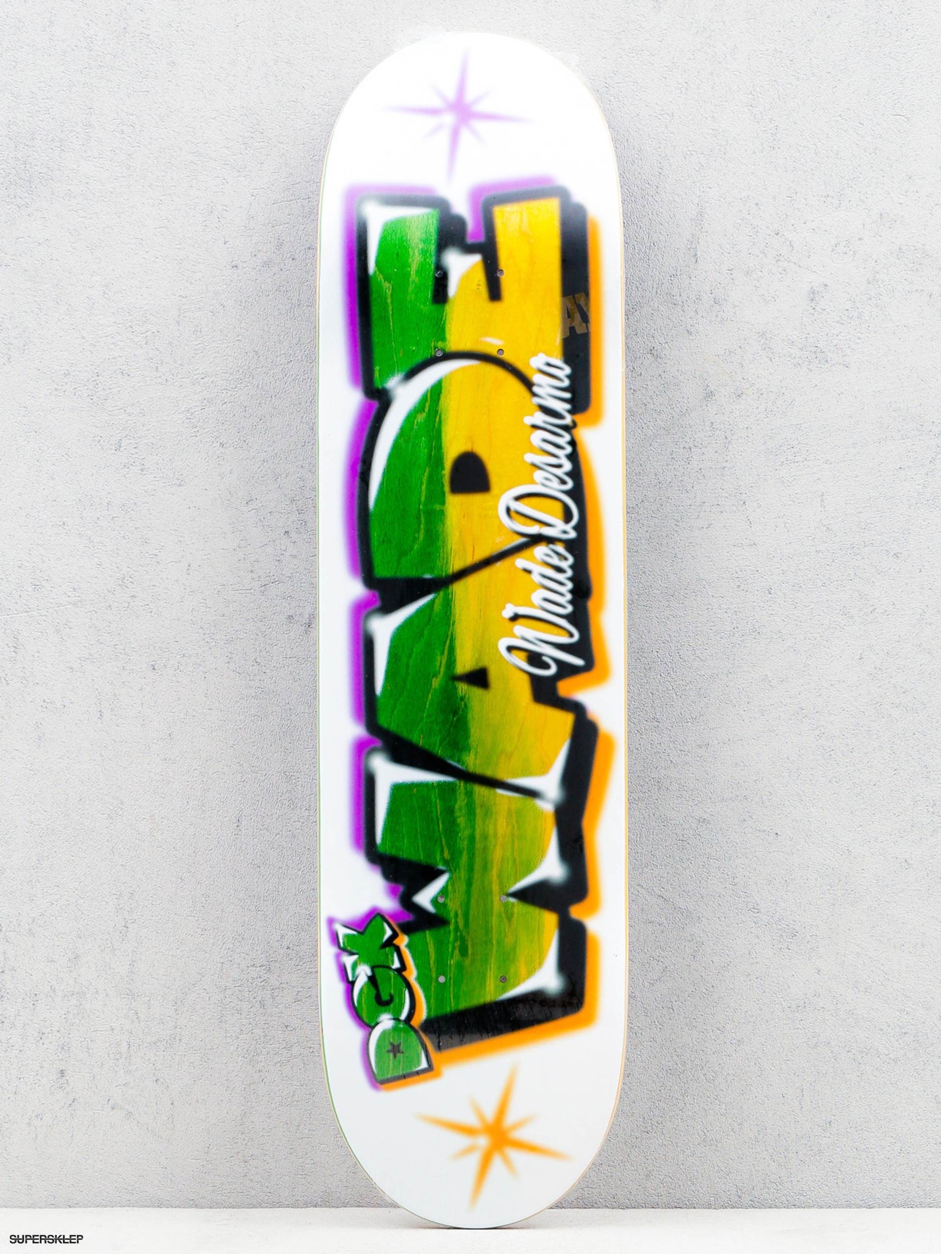 Deck DGK Airbrush Wade (white/multi)
