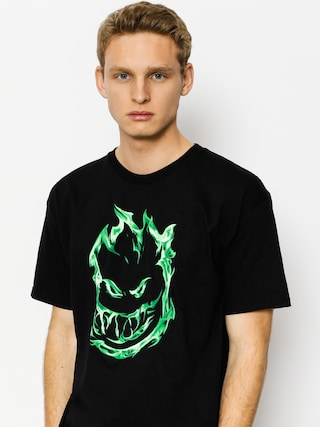 T-shirt Spitfire 451 (black/green)