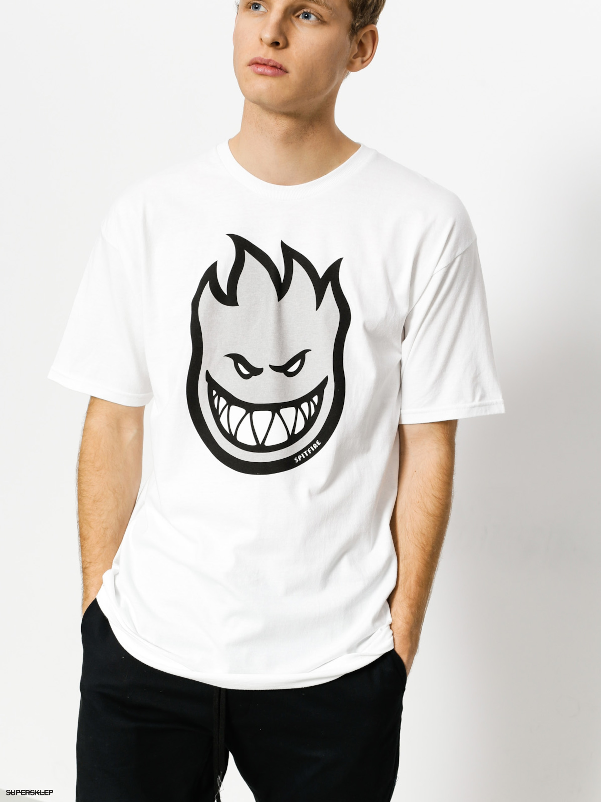 T-shirt Spitfire Big Head Fill