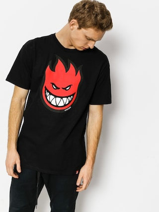 T-shirt Spitfire Big Head Fill (black/red)