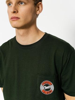 T-shirt Spitfire Flying Classic Pocket (green)