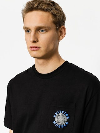 T-shirt Spitfire Og Classic Pocket (black/grey)