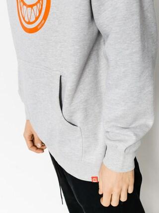 Bluza z kapturem Spitfire Big Head HD (heather/orange)