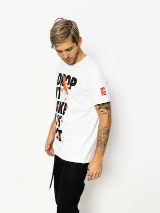 T-shirt Diamante Wear Drop It Like It Hot (white)