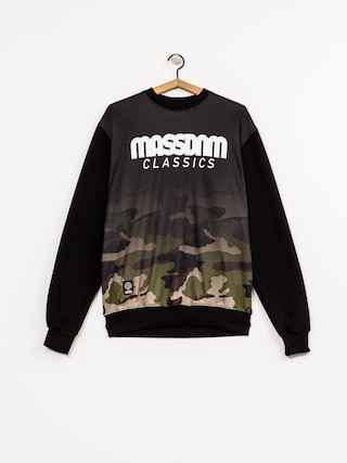Bluza MassDnm Eclipse (black/woodland camo)