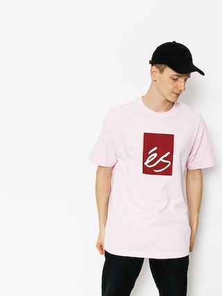 T-shirt Es Main Block (pink)