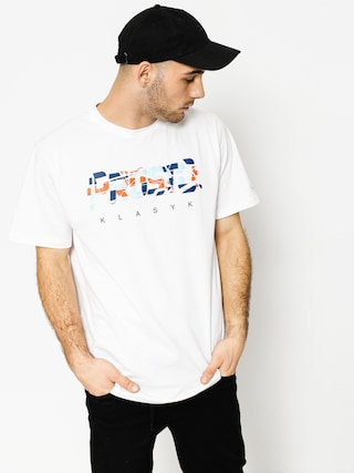 T-shirt Prosto Crack (white)