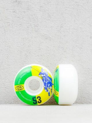 Kółka Gold Wheels Karat Club (white/green/yellow)