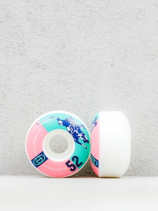 Kółka Gold Wheels Karat Club (white//pink/teal)