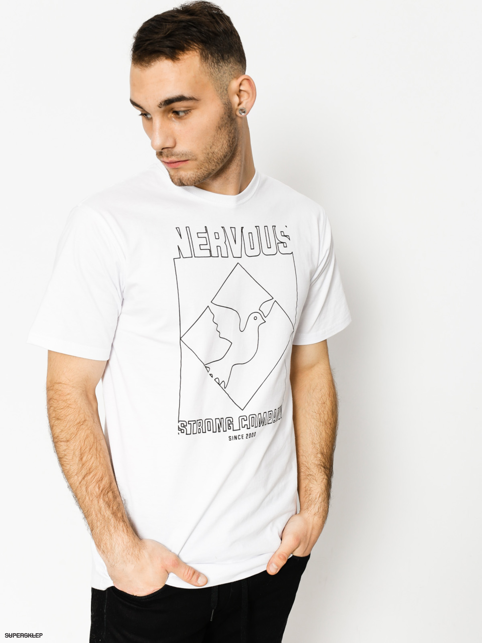 T-shirt Nervous Wire