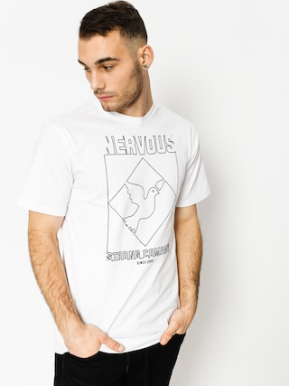 T-shirt Nervous Wire (white)