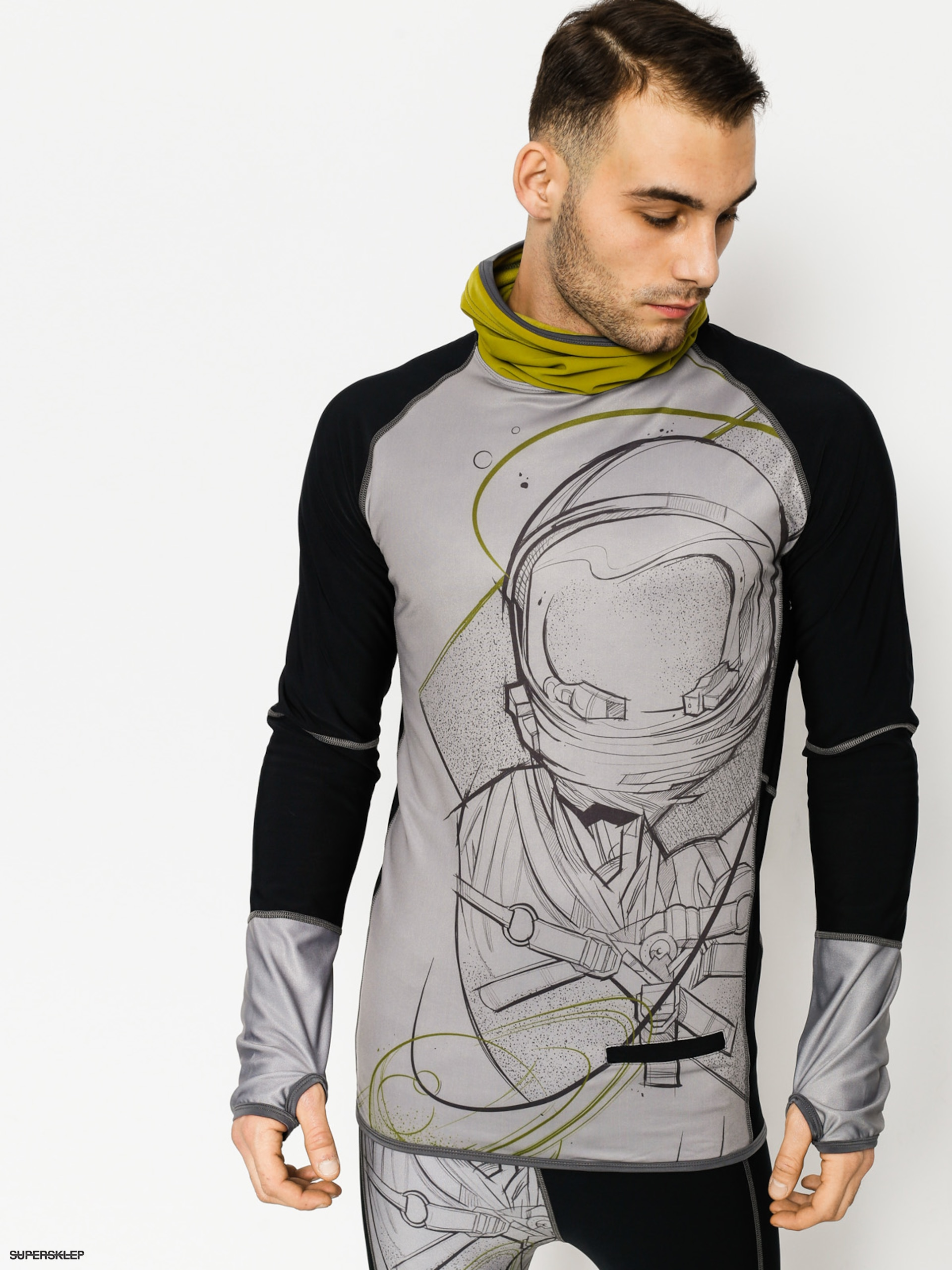 Longsleeve aktywny Majesty Surface Base Layer Top (astro)