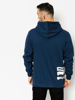 Bluza z kapturem MassDnm Traces HD (navy)