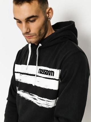 Bluza z kapturem MassDnm Traces HD (black)