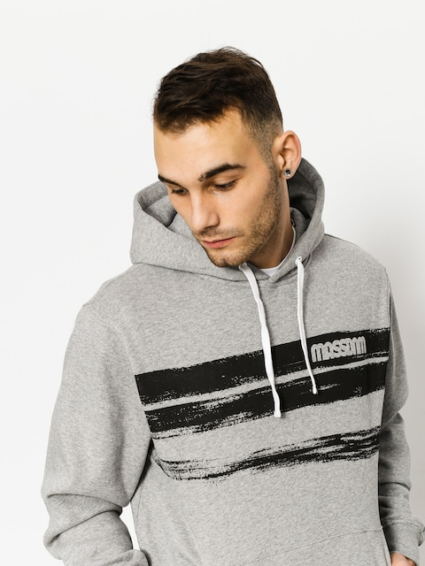 Bluza z kapturem MassDnm Traces HD (light heather grey)