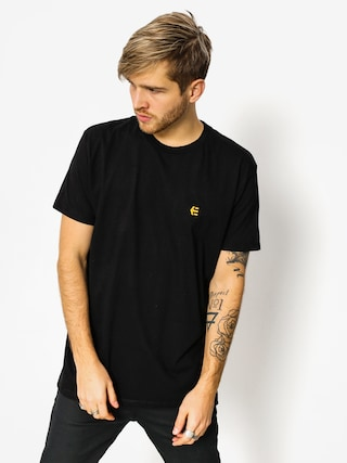 T-shirt Etnies Icon Embroidery (black)
