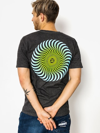 T-shirt Spitfire Classic Swirl Fade (charcoal)