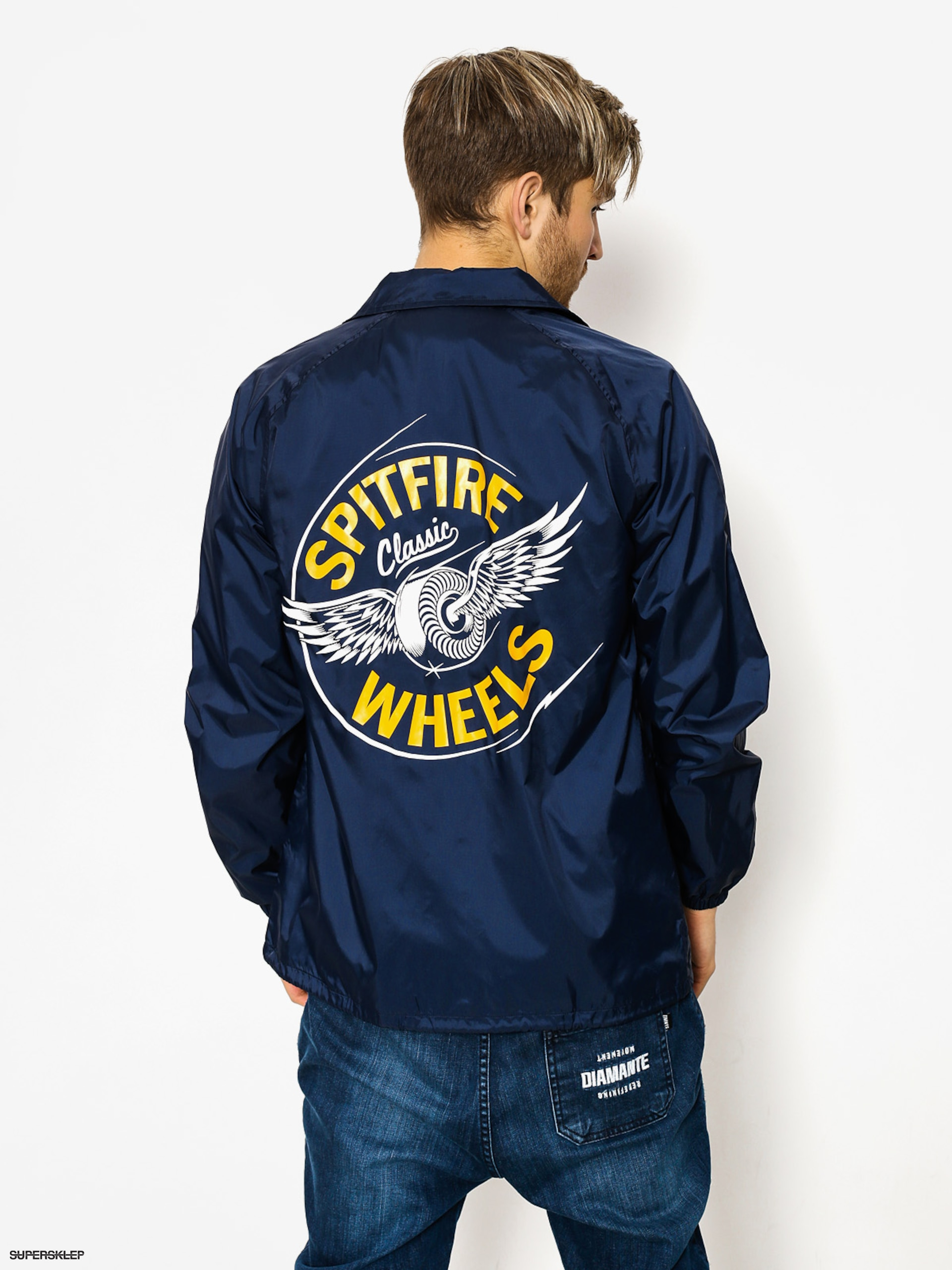 Kurtka Spitfire Flying Classic (navy/yellow)