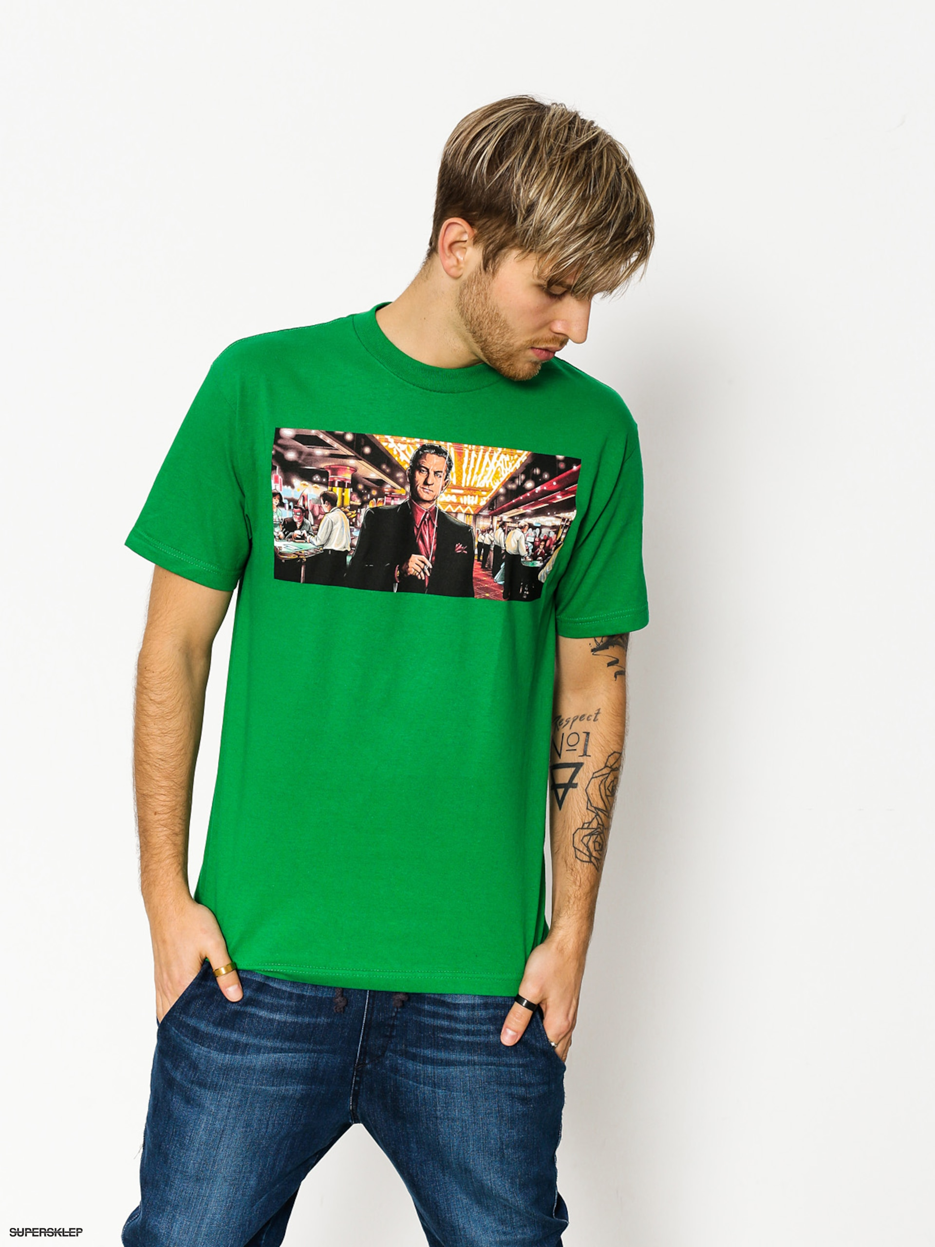 T-shirt DGK Pit Boss (poly green)