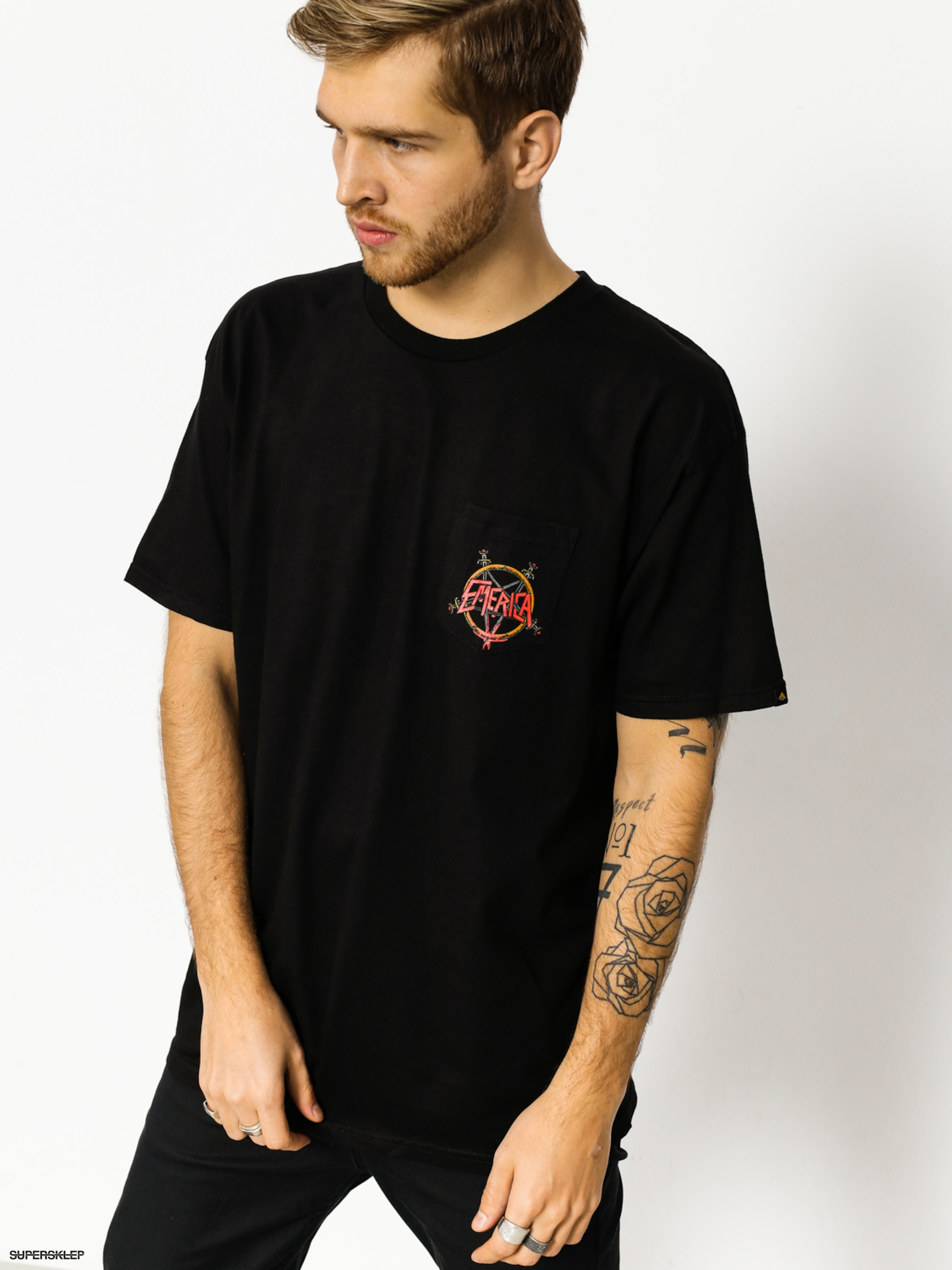 T-shirt Emerica Pentagram (black)