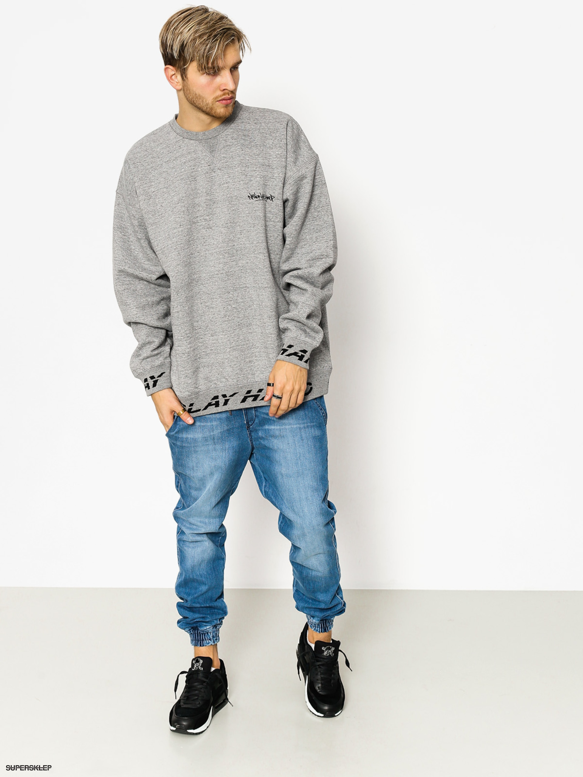 Bluza K1x Ph Crewneck (grey heather)