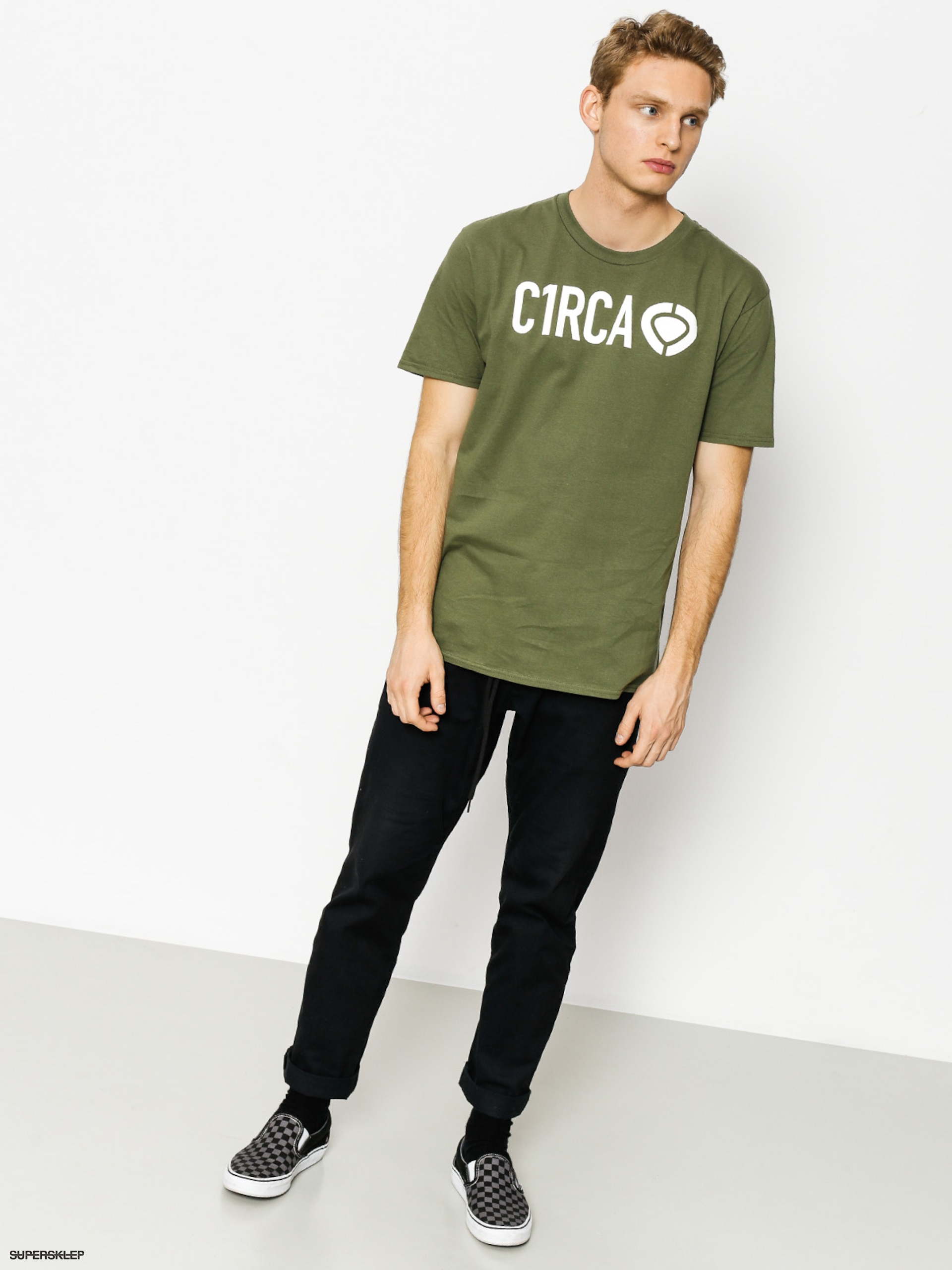 T-shirt Circa Din Icon (military green)