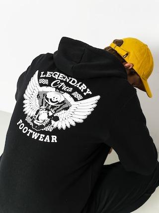Bluza z kapturem Circa Legendary ZHD (black)
