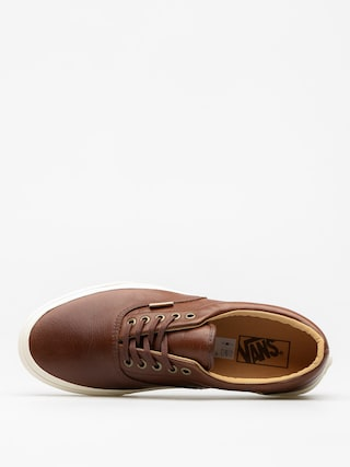 Buty Vans Era (lux leather/shaved chocolate/porcini)