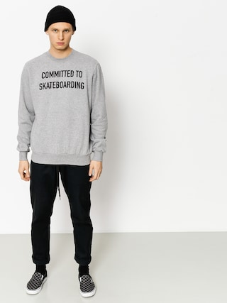 Bluza Circa Committed (athletic grey)