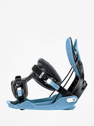 Wiązania snowboardowe Flow Alpha (black/blue)