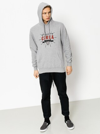 Bluza z kapturem Circa League HD (athletic grey)