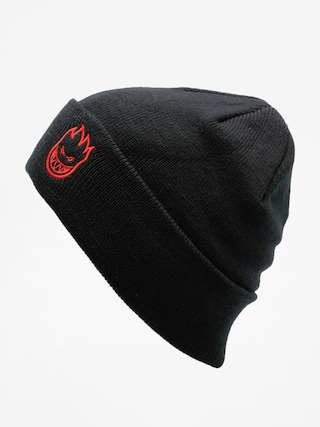 Czapka zimowa Spitfire Beanie Big Head Emb (black/red)