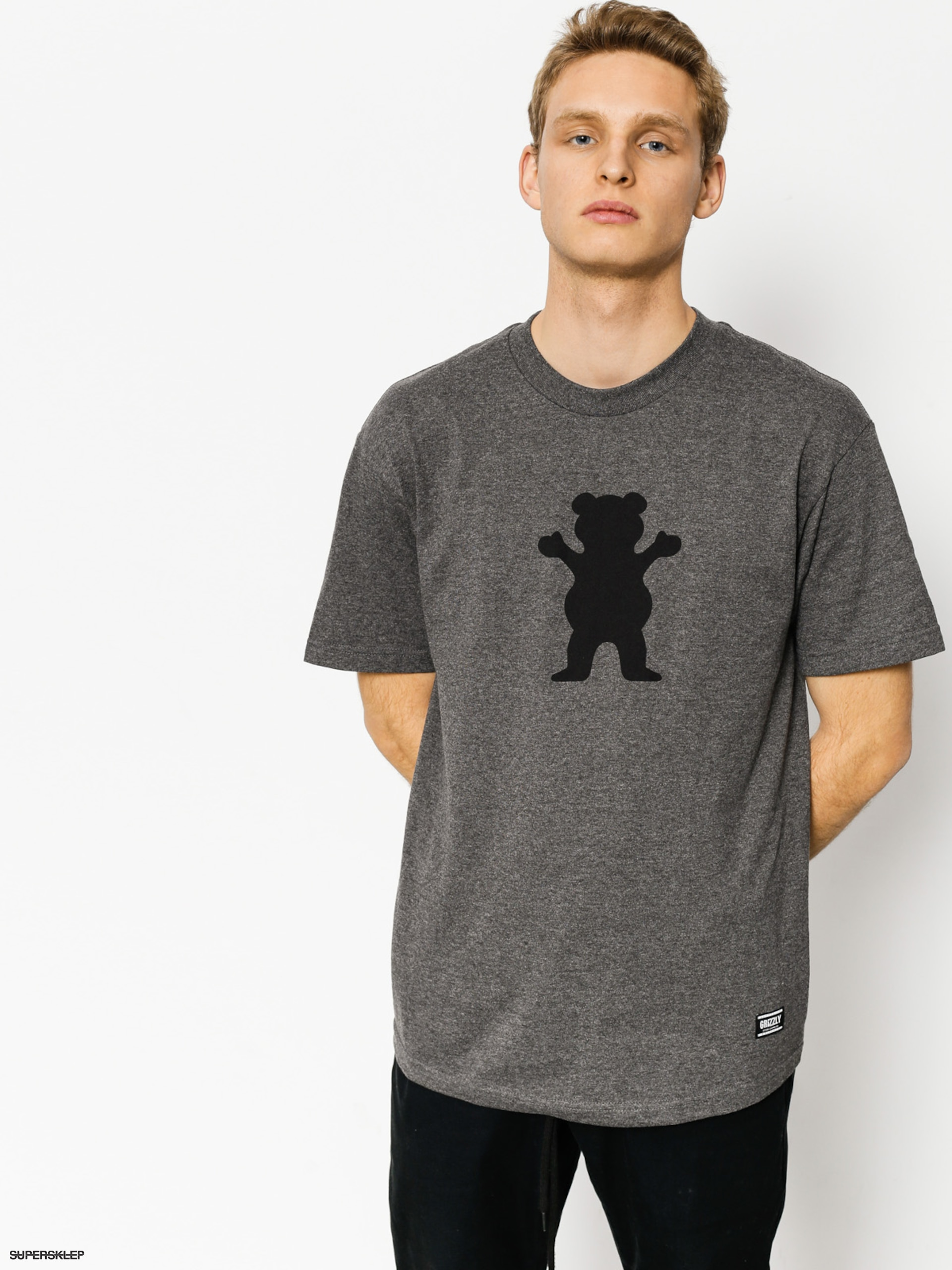 T-shirt Grizzly Griptape Og Bear