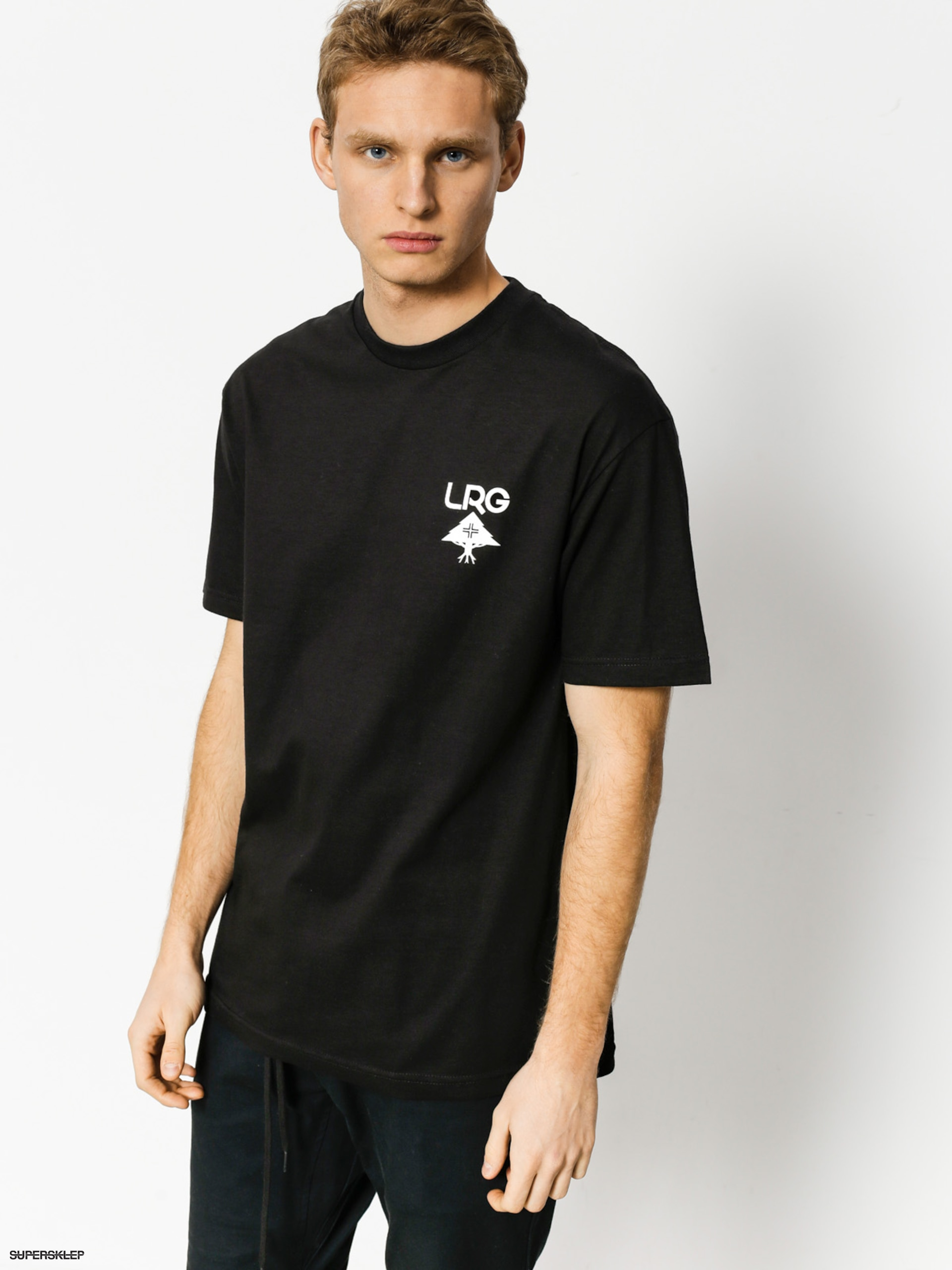 T-shirt LRG Logo Plus (black)