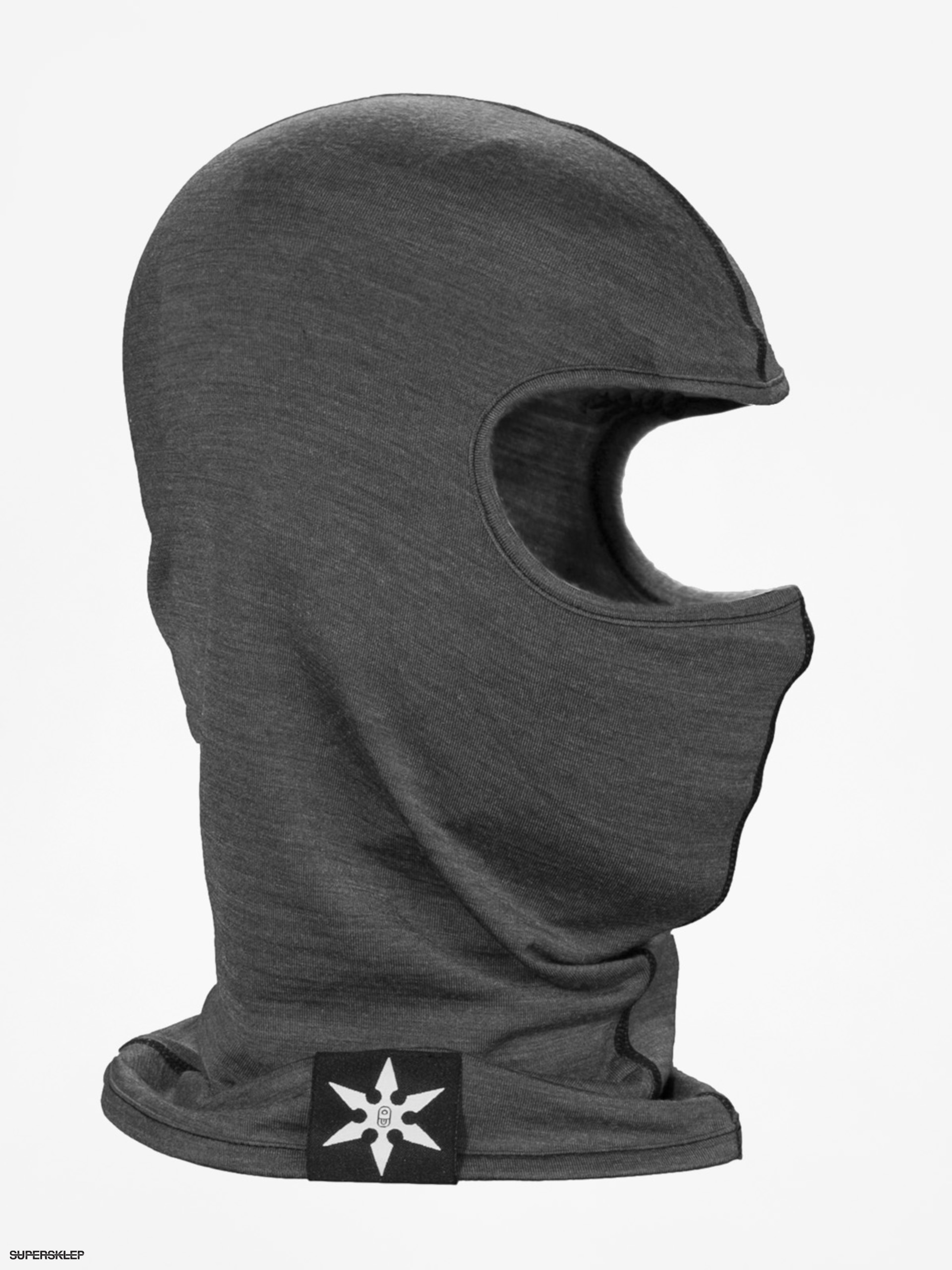 Kominiarka Airblaster Merino Ninja Face (natural black)