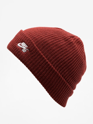 Czapka zimowa Nike SB Sb Fisherman Beanie (dark team red/white)