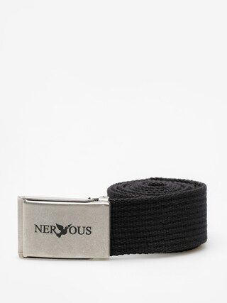 Pasek Nervous Classic (black/silver)