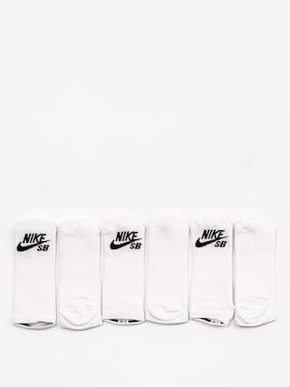 Skarpetki Nike SB No Show 3pk (white/black)